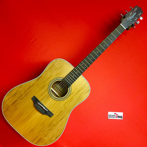 [USED] Takamine GD20 NS Dreadnought Acoustic Guitar Natural (See Description.)