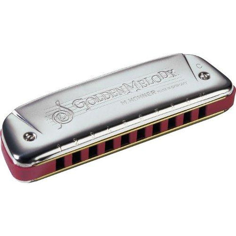Hohner 542BX-A Golden Melody Harmonica, Key of A