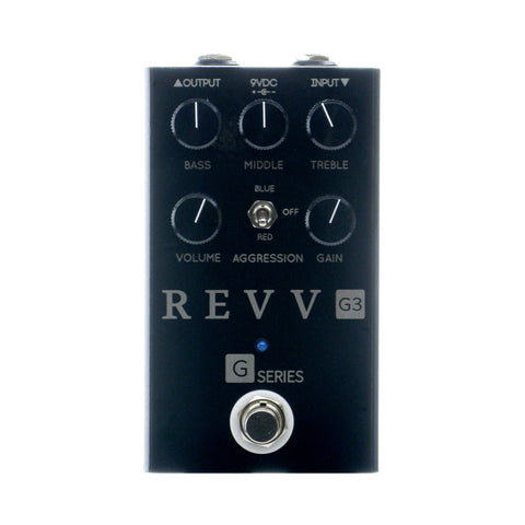 Revv Amplification G3 Distortion, Blackout Edition (Gear Hero Exclusive)