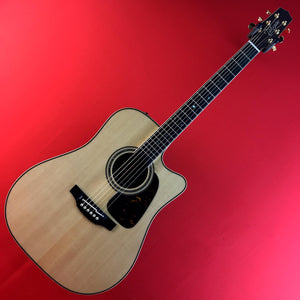 [USED] Takamine P7DC Dreadnought Acoustic/ Electric Guitar Natural