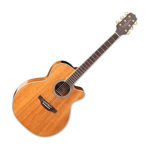 Takamine GN77KCE Mini Jumbo Acoustic-Electric Guitar, Gloss Natural