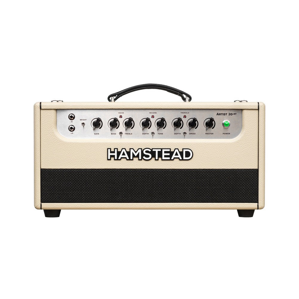 Hamstead Soundworks Artist 20+RT Guitar Amplifier Head, Cream