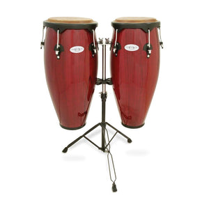 Toca 2300RR Synergy Series Conga Set, Red Wood