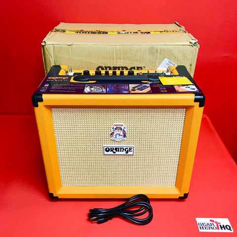 "[USED] Orange Rocker 15 1x10"" 15-watt Tube Combo - Orange"