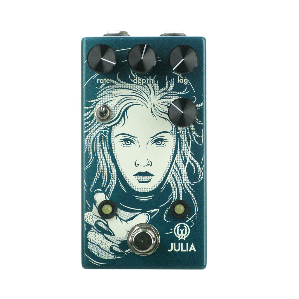 Walrus Audio Julia V2 Analog Chorus/Vibrato, Teal (Gear Hero Exclusive)
