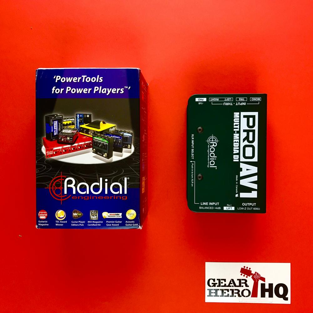 [USED] Radial ProAV1 Multi-Media DI