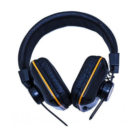 Orange Headphones Dark Edition