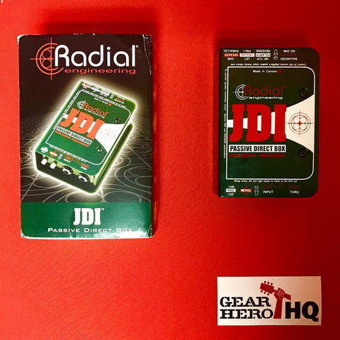 [USED] Radial JDI Passive DI with Jensen Transformer