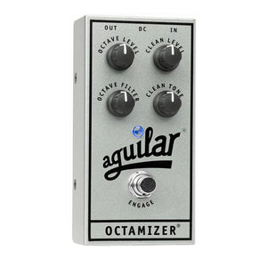 Aguilar Octamizer Bass Octave, 25th Anniversary Silver (Limited Edition)