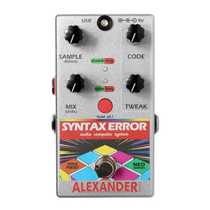 Alexander Pedals Syntax Error Bitcrusher