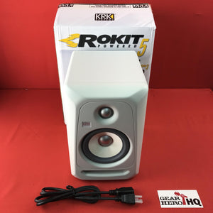 [USED] KRK RP5G3WN-NA Rokit 5 Generation 3 Powered Studio Monitor, White