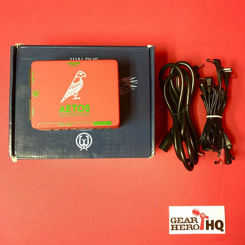 [USED] Walrus Audio Aetos 8 Output Power Supply, Red/Green (Gear Hero Exclusive)