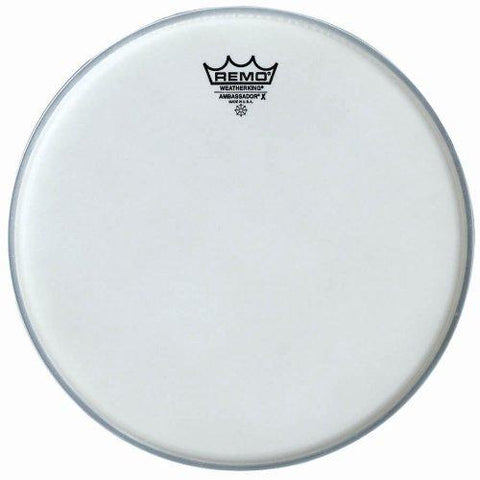 Remo Ambassador X Coated Drumhead, 12 Inch