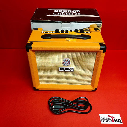 [USED] Orange Crush 20 1x8 20W Guitar Combo Amp, Orange