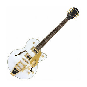 Gretsch G5655TG Limited Edition Electromatic Center Block Jr. Single-Cut w/Bigsby, Snow Crest White & Gold Hardware