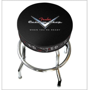 "Fender® 30"" Custom Shop Pinstripe Bar Stool"