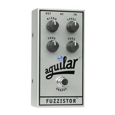 Aguilar Fuzzistor Bass Fuzz, 25th Anniversary Silver (Limited Edition)