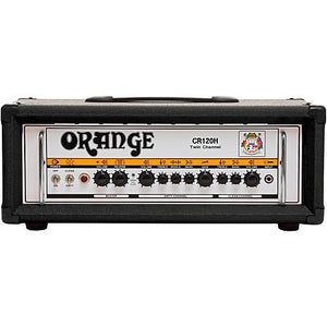 Orange Crush Pro CR120H 120W Guitar Amp Head, Black