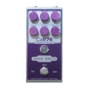 Origin Effects Cali-76 Compact Deluxe, Purple (Pedal Genie Exclusive)