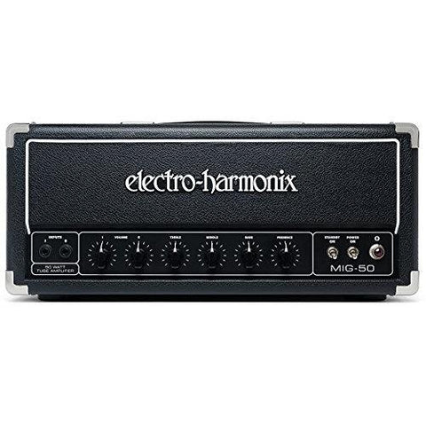 Electro-Harmonix MIG 50 Watt 2-Channel Tube Guitar Head