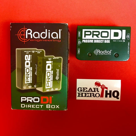 [USED] Radial ProDI Passive Direct Box