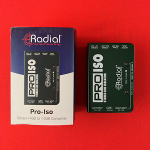 [USED] Radial ProISO Stereo Line Isolator +4dB to -10dB Converter