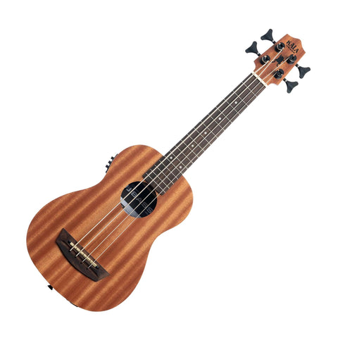 Kala UBASS-WNDR-FS Wanderer Acoustic Electric U-Bass, Satin