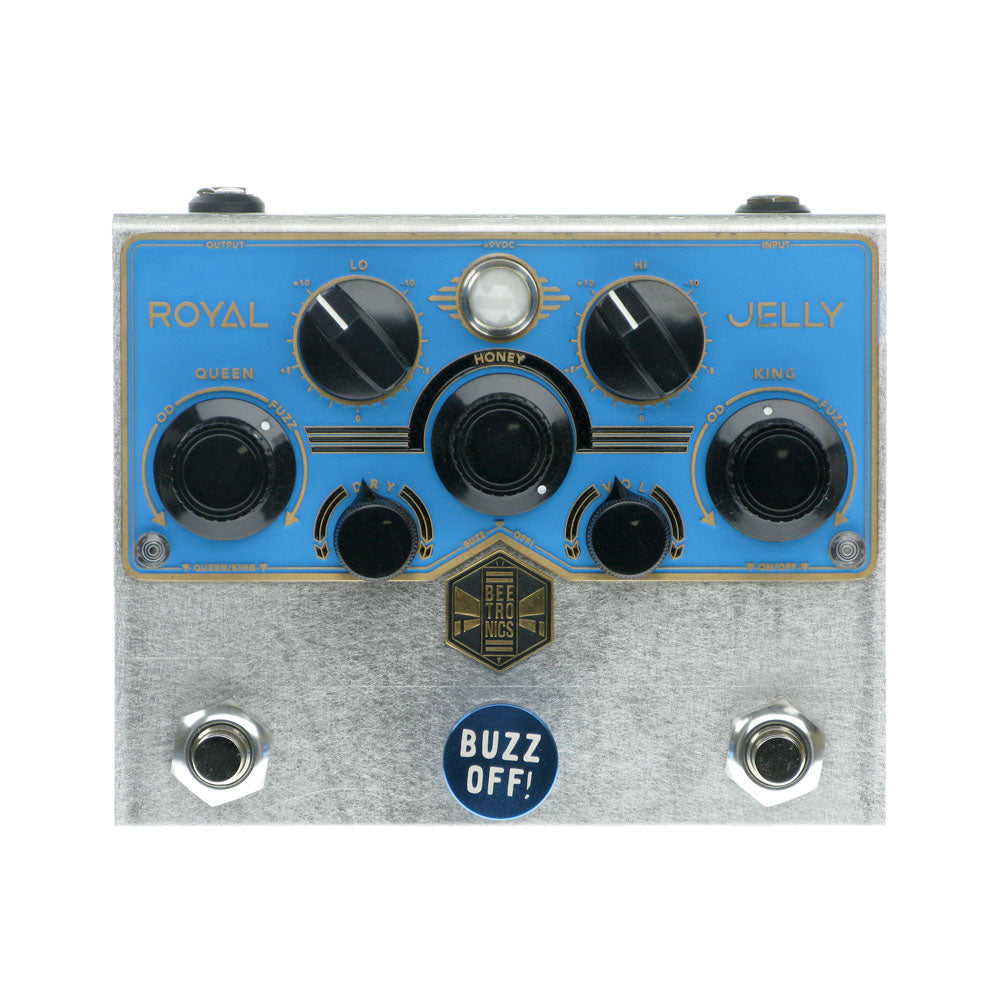 Beetronics Royal Jelly Overdrive, Silver/Blue (Limited Edition)