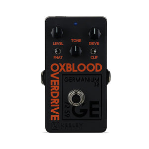 Keeley Oxblood Overdrive, Limited Edition Black/Orange