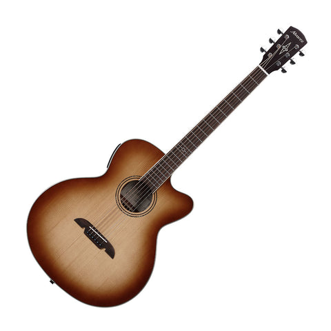 Alvarez ABT60CESHB Artist Series Baritone Acoustic-Electric Guitar, Shadowburst Gloss Finish