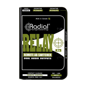 Radial Relay XO Balanced Active AB Signal Switcher