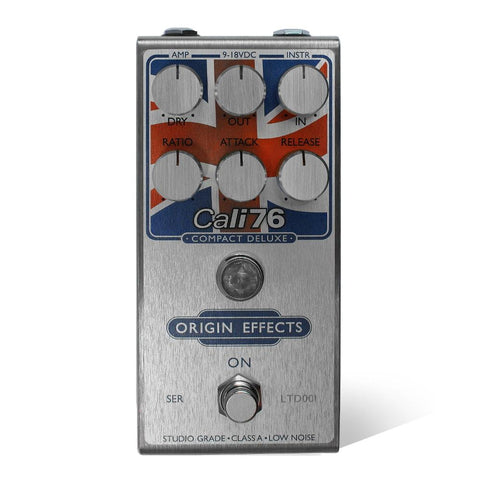 Origin Effects Cali-76 Compact Deluxe, Union Jack