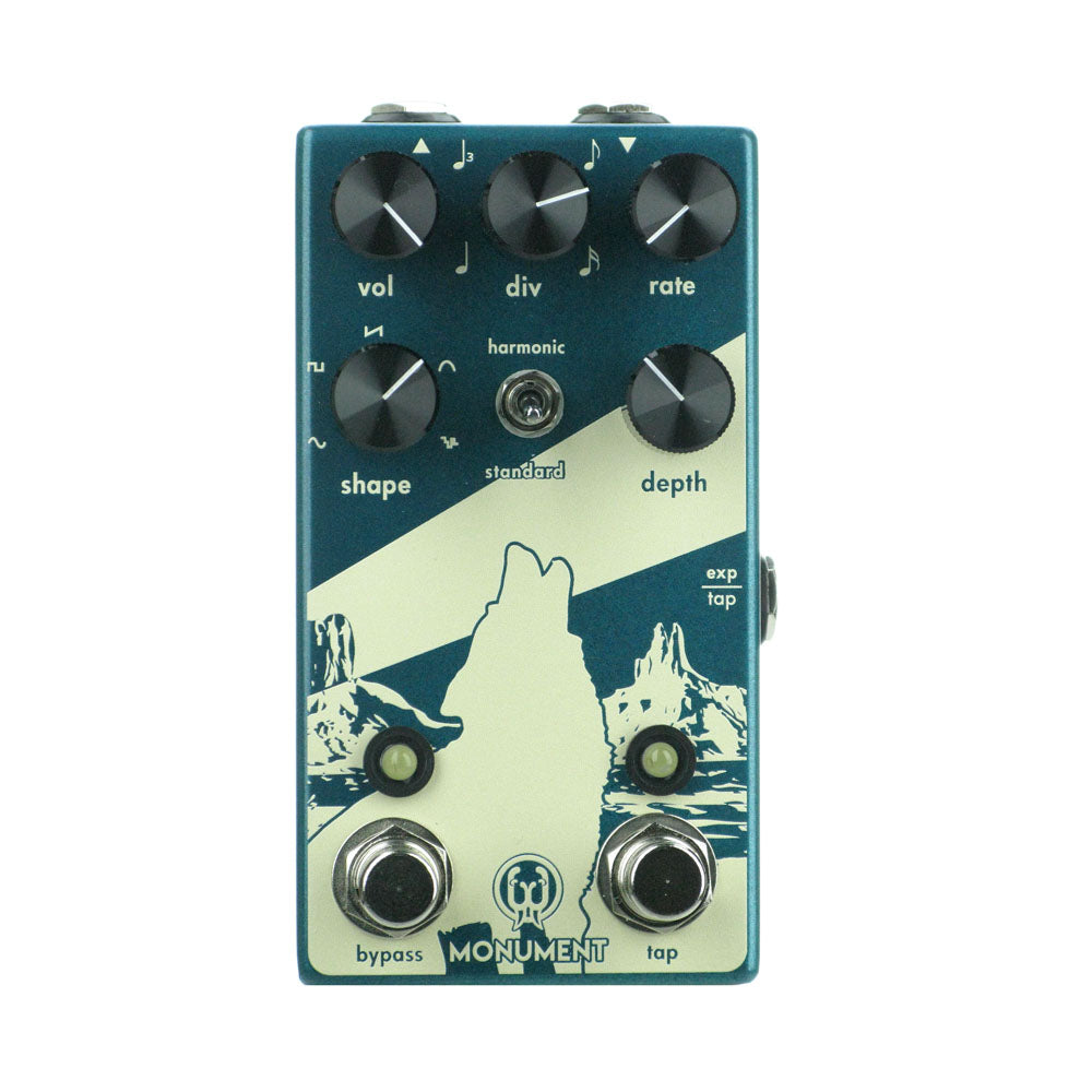 Walrus Audio Monument V2 Tap Tremolo, Teal (Gear Hero Exclusive)