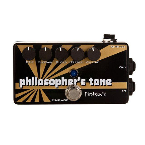 Pigtronix Philosopher's Tone Compressor Sustainer and Distortion
