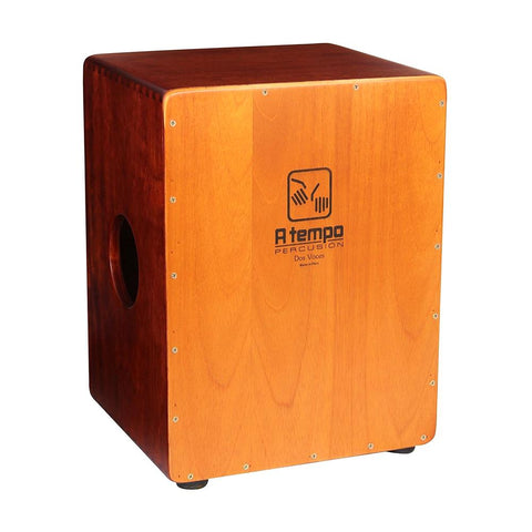 A Tempo Percussion Dos Voces (Two Voices) Cajon w/Gig Bag