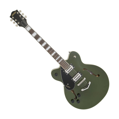 Gretsch G2622 Streamliner Center Block Left-Handed Electric Guitar, Torino Green