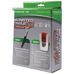 Monster Standard 100 Instrument Cable and PRO 200 Powercenter Performance Pack