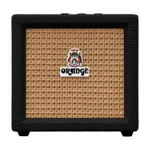 Orange Amplification Crush Mini 3-Watt Battery Powered Guitar Combo Amplifier (Black)