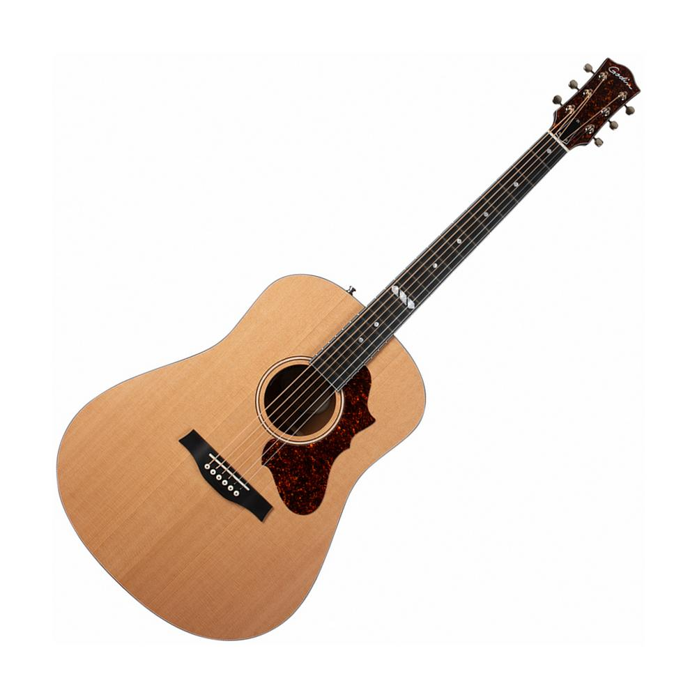 Godin Metropolis Natural Cedar EQ Acoustic Electric, Natural Semi-Gloss