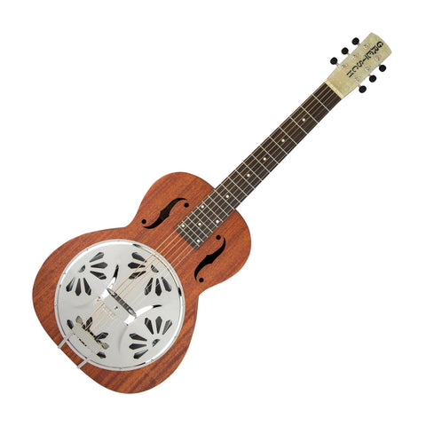 Gretsch G9210 Boxcar Square-neck, Resonator Guitar, Natural Mahogany