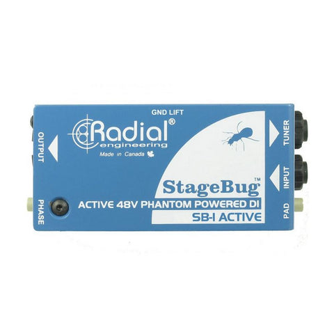 Radial SB-1 StageBug Active DI for Acoustic Guitars