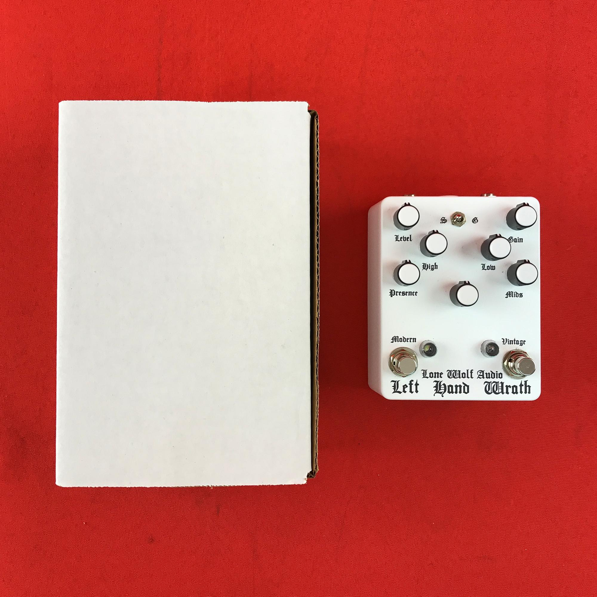 [USED] Lone Wolf Audio Left Hand Wrath Distortion, White (Gear Hero Exclusive)