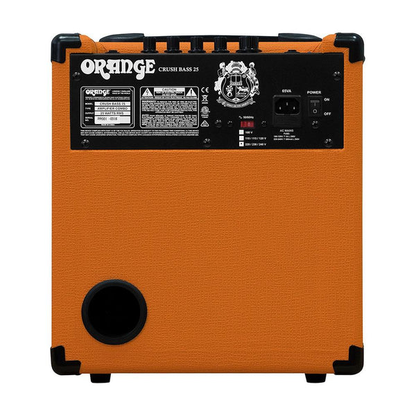 Orange Crush Bass 25 watt Bass Guitar Amp Combo, Orange