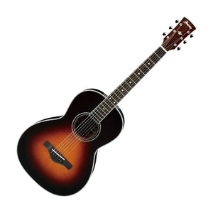 Ibanez AVN1BS Artwood Vintage Parlor Acoustic Guitar Brown Sunburst
