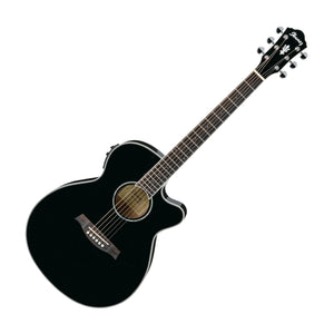 Ibanez AEG10II-BK Acoustic Electric Guitar, Black