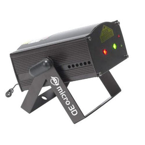 American DJ Micro 3D Laser Effect Light