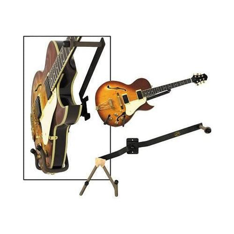 String Swing Horizontal Guitar Holder for Narrow Bodied Instruments