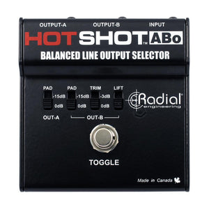 Radial HotShot ABO Line Output Selector