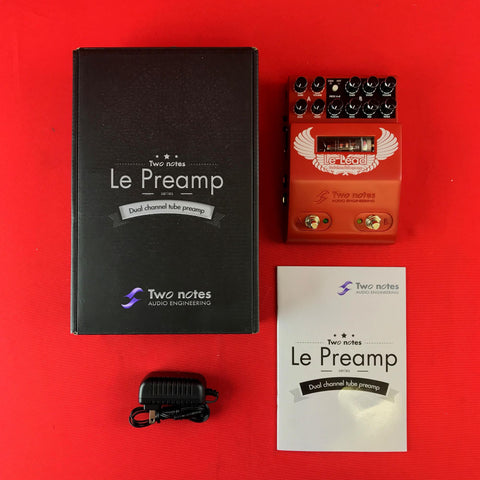 [USED] Two Notes Le Lead 2-Channel Hi-Gain Tube Preamp Pedal