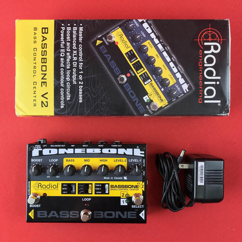 [USED] Radial Bassbone V2 Bass Preamp and DI Box